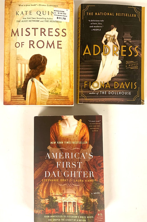 """""""The Address"""" Fiction Book Stack"""