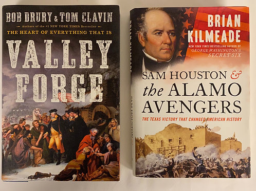 Valley Forge / The Alamo Book Stack