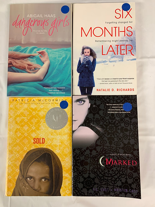 "Teens/YA ""Dangerous Girls"" Book Stack"