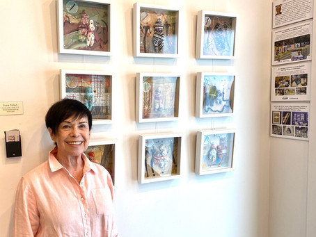 The Westport Book Shop Welcomes Artist Diane Pollack for July Exhibit