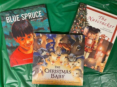 """Grade K """"Blue Spruce"""" Book Stack"""