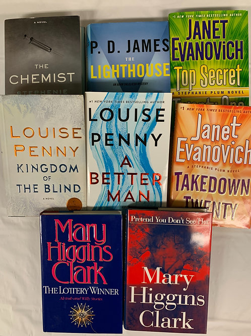 Women of Mystery Book Stack