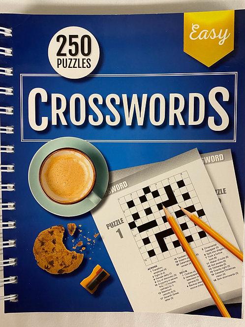 Easy Crossword Puzzle Book