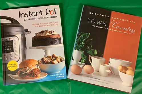Zakarian Cookbook Stack