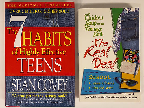 "Teens / YA ""Chicken Soup for the Teenage Soul"" Book Stack"