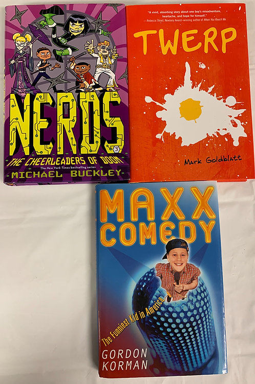 "Grades 4 - 5  ""Nerds"" Book Stack"