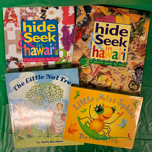 "Preschooler ""Little Miss Spider"" Book Stack"