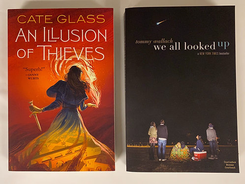 """Teens/YA """"We All Looked Up"""" Book Stack"""