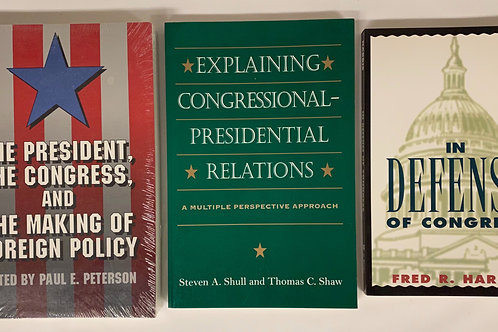 U.S. Congress Book Stack