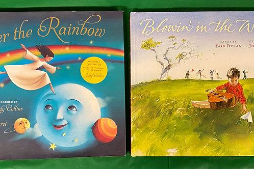 """Preschoolers """"Over the Rainbow"""" Book Stack"""