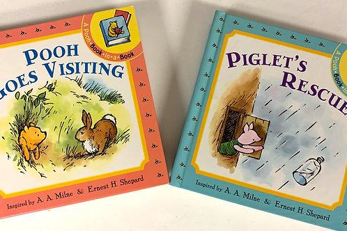 """Preschooler """"Piglet's Rescue"""" Book Stack"""