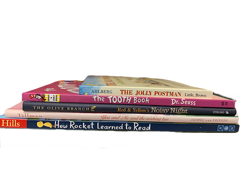 "Preschooler ""Jolly Postman"" Book Stack"