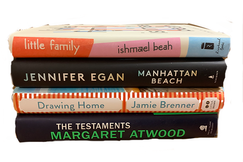 """""""Little Family"""" Fiction Book Stack"""