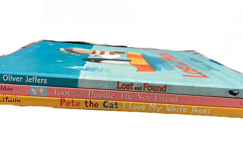 """Grades K - 1 """"Lost and  Found"""" Book Stack"""