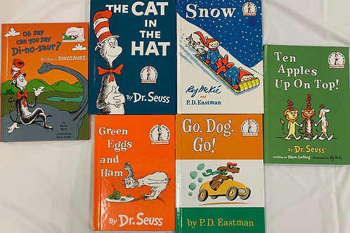 Preschooler Dr. Seuss Classics Book Stack