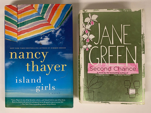 """""""Second Chance"""" Fiction Book Stack"""