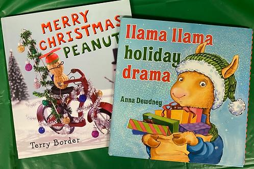 "Preschooler ""Llama Llama"" Book Stack"
