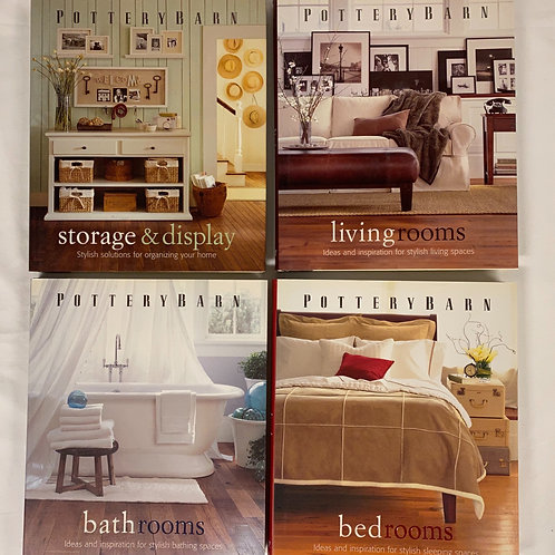 Pottery Barn Home Decorating Book Stack