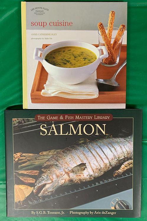 Soup & Salmon Cookbooks