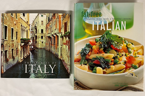 """Secrets of Italy"" Book Stack"