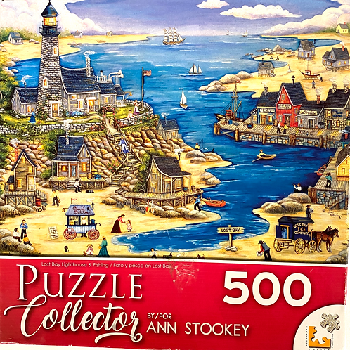 """""""Lost Bay Lighthouse"""" Jigsaw Puzzle"""