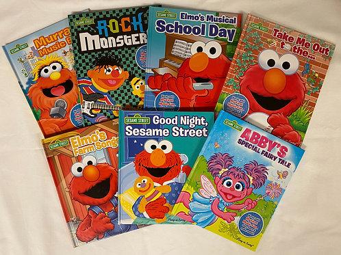 Preschooler Sesame Street Book Stack