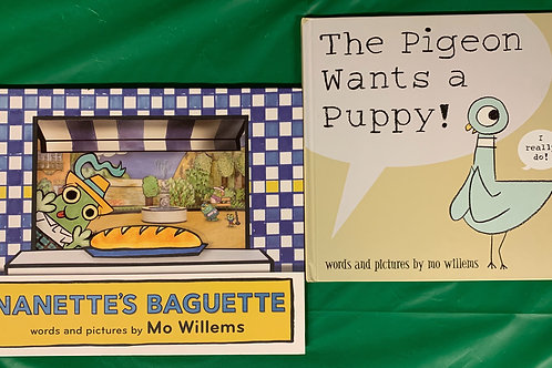 "Preschooler ""Nanette's Baguette"" Book Stack"