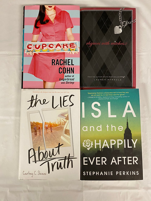 "Teens/YA ""Cupcake"" Book Stack"
