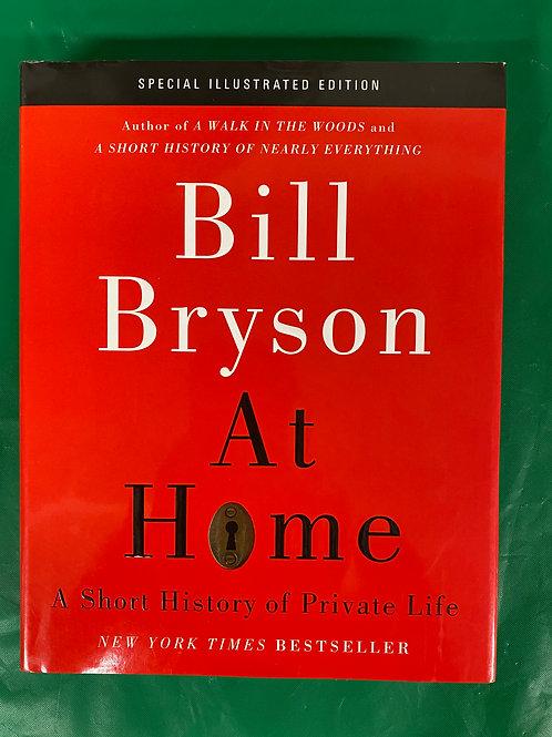 "Bill Bryson's ""At Home"""