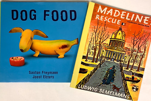 """Preschooler """"Madeline's Rescue"""" Book Stack"""