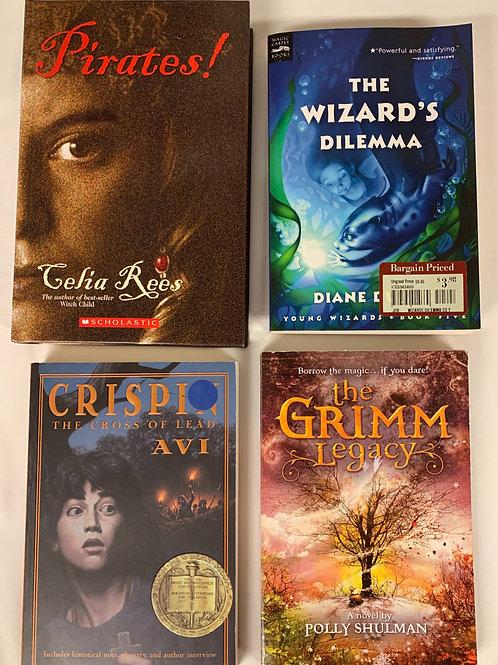 "Middleschooler ""Pirates!"" Book Stack"