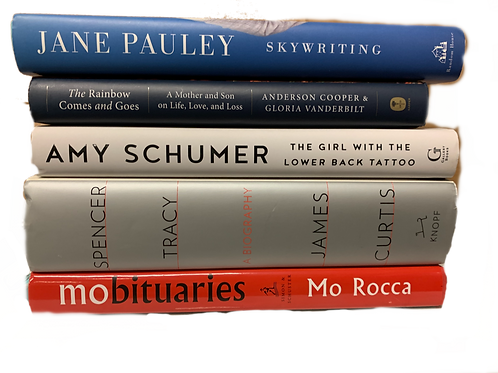 Current Culture Biography Book Stack