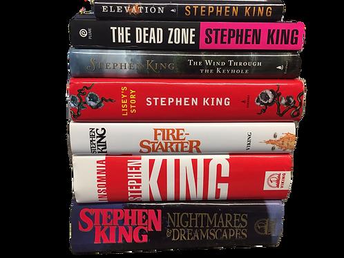 Stephen King SciFi Book Stack