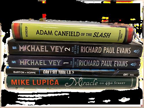 """Middleschooler """"The Slash"""" Book Stack"""