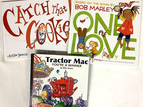 """Preschooler """"Tractor Mac"""" Book Stack"""