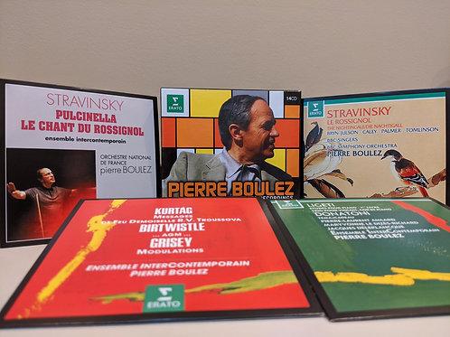 Pierre Boulez CDs