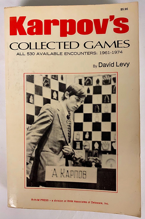 """Karpov's Collected Games"""