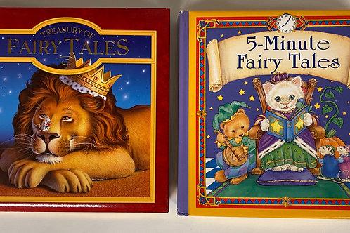 Preschooler Fairy Tales Book Stack