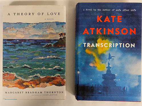 """""""Theory of Love"""" Fiction Book Stack"""