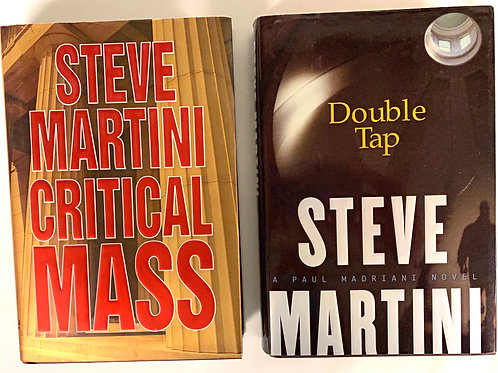 Steve Martini Mystery Book Stack