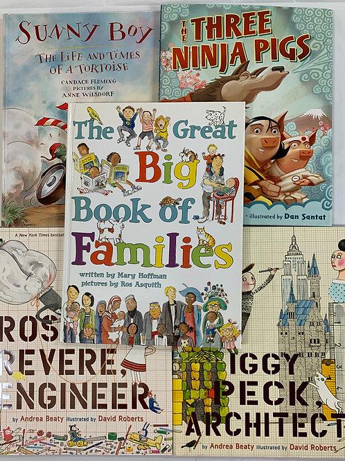 "Grade K ""Sunny Boy"" Book Stack"