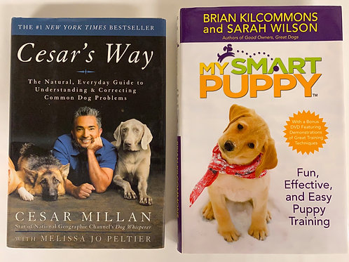 """Cesar's Way"" Book Stack"