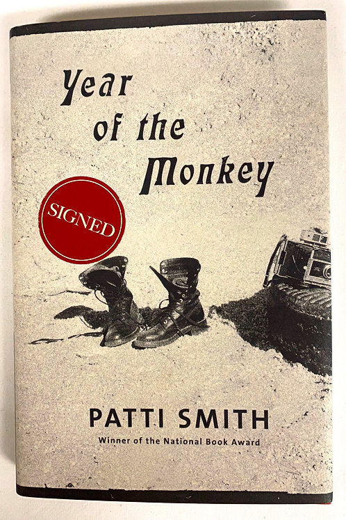 "Patti Smith's ""Year of the Monkey"" (signed)"