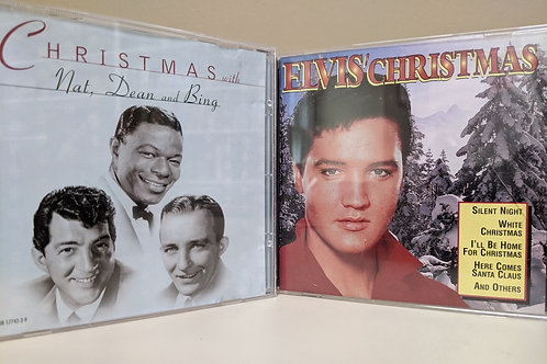 Nat, Dean, Bing and Elvis Christmas Music