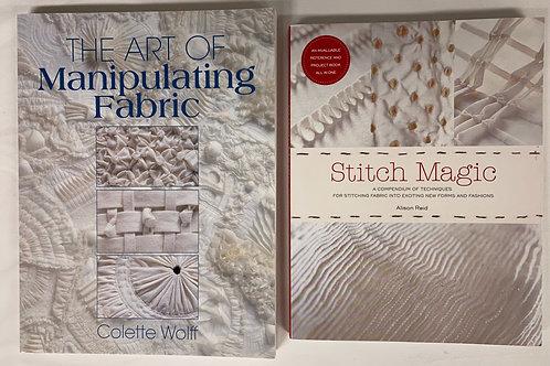 Stitch Magic Book Stack