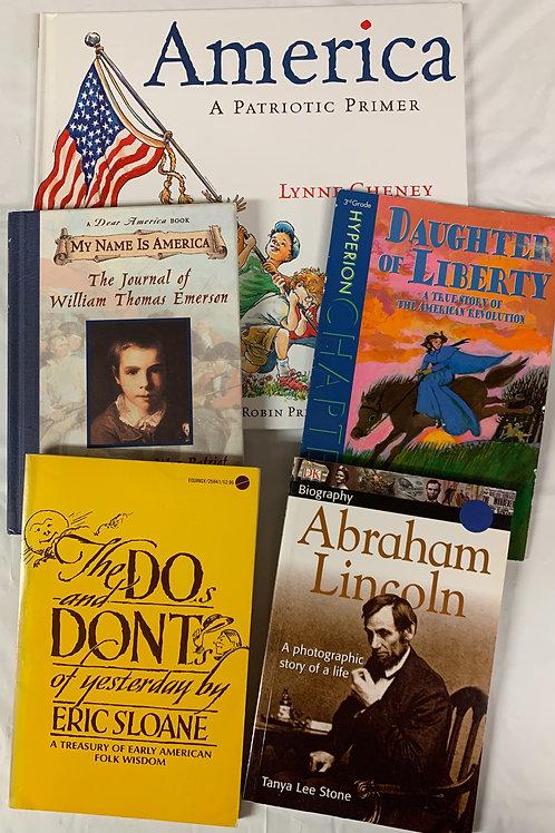 Grade 4 America Book Stack