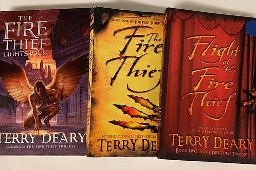 "Grade 3 ""The Fire Thief"" Book Stack"