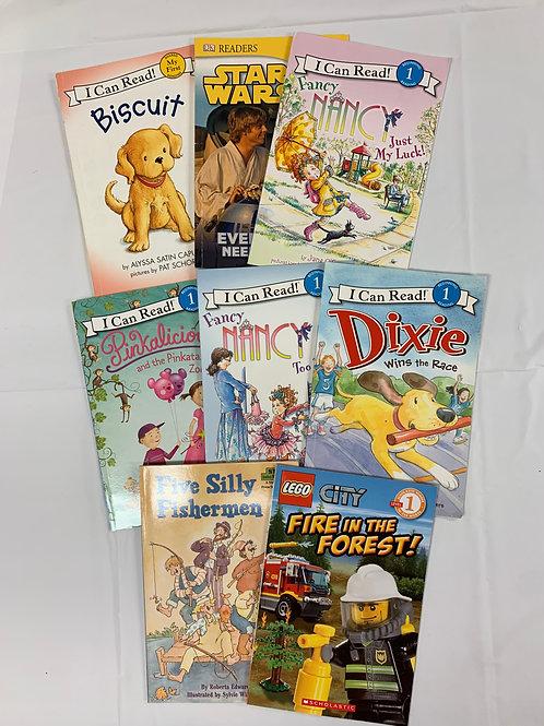 Preschooler Early Readers Book Stack