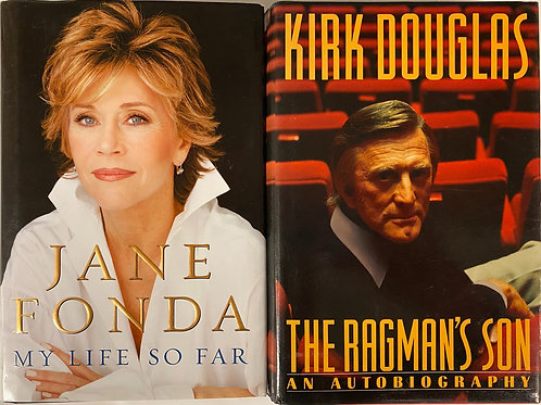 Jane and Kirk Biography Book Stack