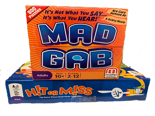 Mad Gab + Hit Or Miss